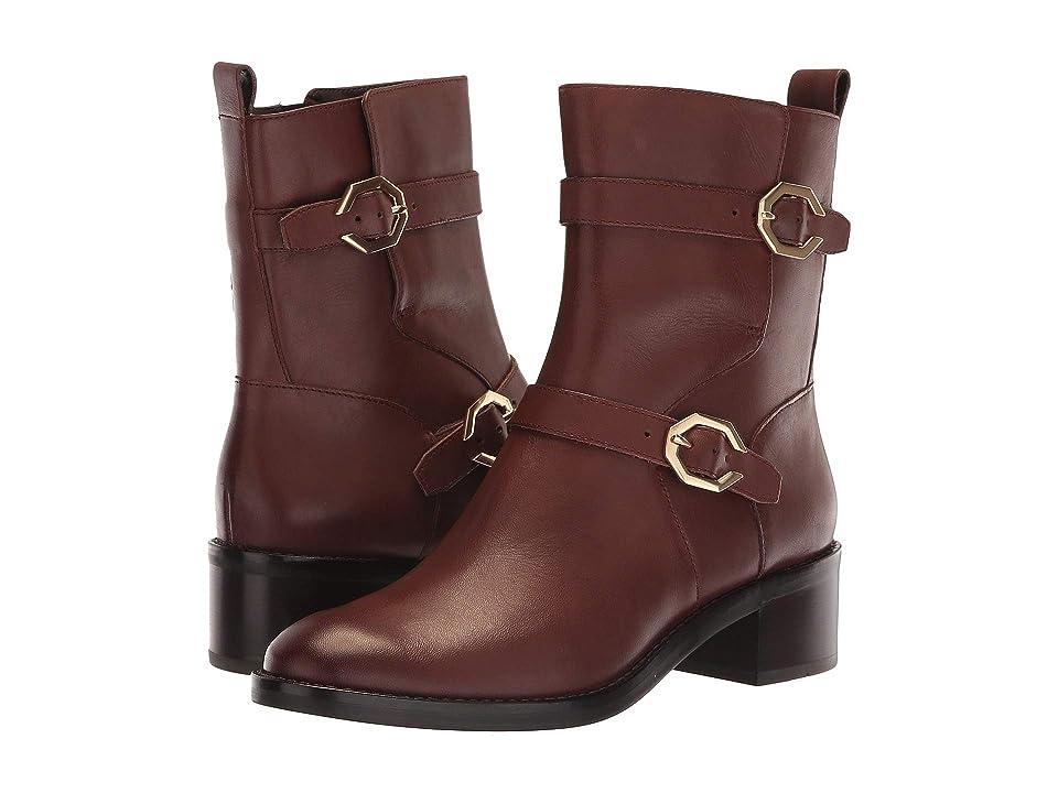 Cole Haan Leela Grand Moto Boot (Bitter Chocolate) Women
