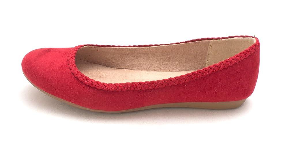 洗剤潜在的な動機付けるStyle & Co. Womens Ciaraa Ballet Flats, Red, Size 6.5