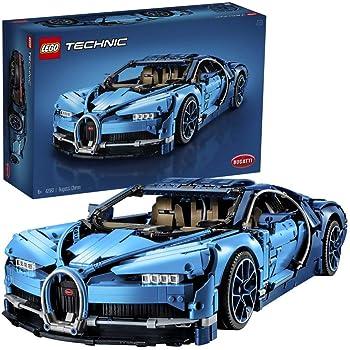 LEGO 42083 Technic Bugatti Chiron Set di Costruzioni, Modello da Collezionare di Auto Sportive, Oltre 3.599 Pezzi
