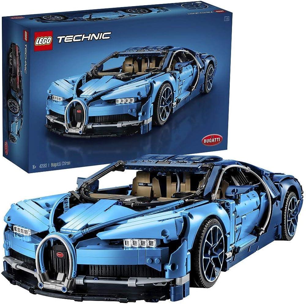bugatti chiron Lego technic set di costruzioni 3599 pezz 42083