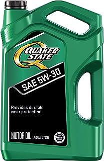 Quaker State 550044963 روغن موتور دوام پیشرفته 5W-30 (SN / GF-5) ، 5 کوارت