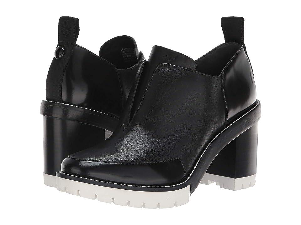 Tory Burch Preston 95mm Lug Sole Boot (Perfect Black) Women