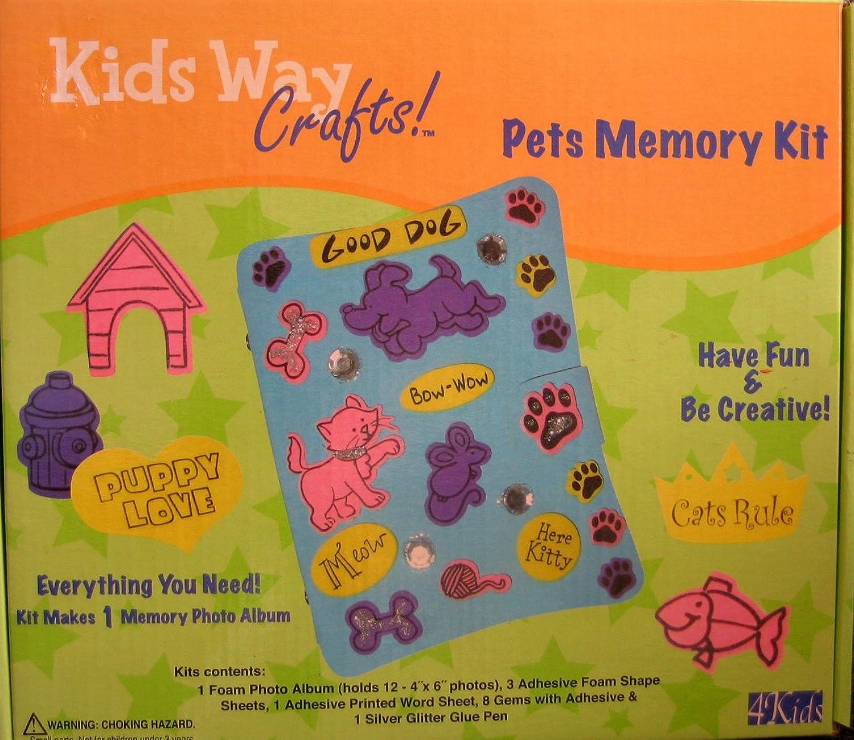 envío rápido en todo el mundo Pets Memory Kit  Makes 1 Memory Photo Album Album Album by Pets  Tienda de moda y compras online.