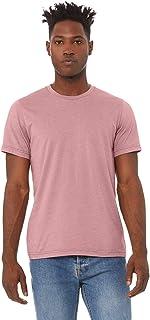 Bella+Canvas Men's Heather CVC T-Shirt, Heather Orchid, Medium