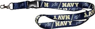WinCraft United States Naval Academy Navy Midshipmen Premium Lanyard Id Holder