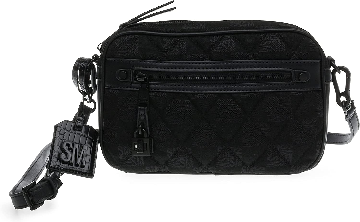 Max 90% OFF Steve Madden Jacey Quilted High quality new Bag Camera Black