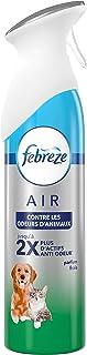 Febreze brume d'air Contre les Odeurs Des Animaux, Parfum Frais, 300ml