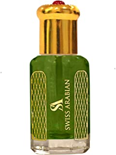 Jannet El Naeem 12mL | Artisanal Hand Crafted Perfume Oil Fragrance for Women and for Men | Traditional Attar Style Cologne | by Perfumer Swiss Arabia