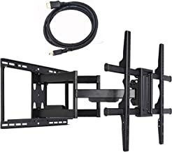 VideoSecu 24 inch Extension Full Motion Swivel Articulating TV Wall Mount Bracket for Most 40