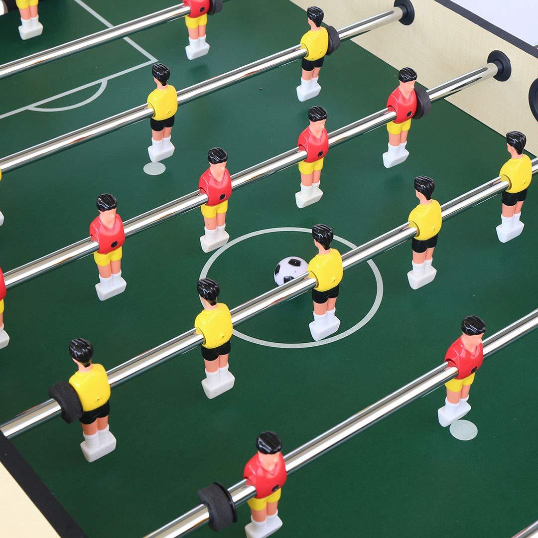 homelikesport Futbolin de Mesa Plegable Juego del Futbolín para el ...