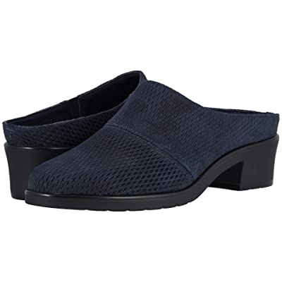 Walking Cradles Caden (Navy Stamped Nubuck) Women