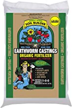 Worm Castings Organic Fertilizer, Wiggle Worm Soil Builder, 4.5-Pounds