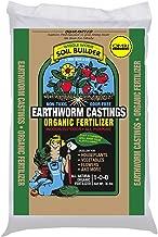 Unco Industries Wiggle Worm Organic Earthworm Castings Fertilizer, 4.5-Pound., Brown - 602