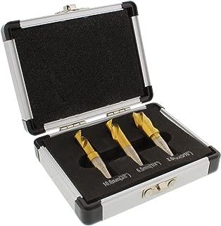 ABN Spot Weld Cutter Drill Bit 3-Piece Set – High-Speed Steel HSS Cobalt Titanium Coated Welding Remover Bits Tool Kit