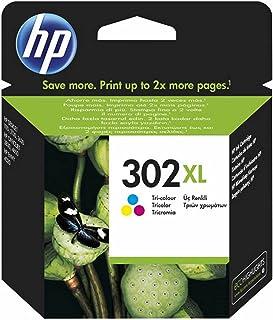 HP F6U67AE 302XL High Yield Original Ink Cartridge, Tri-Colour, Single Pack