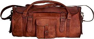 کیف های چرمی دافل مردانه کیف های ورزشی ورزشی آخر هفته کیسه های مسافرتی شبانه با فلپ برای مردان