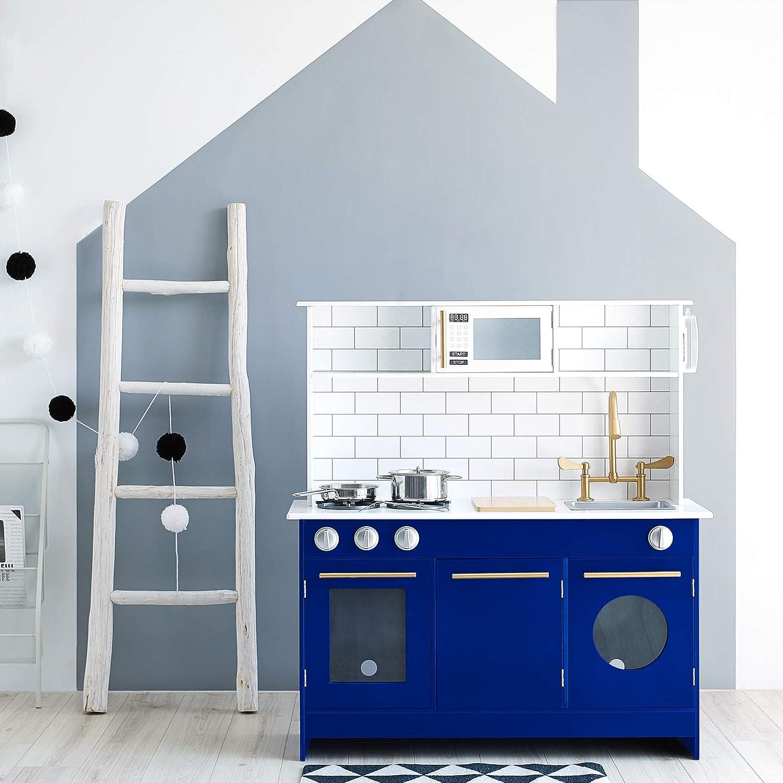 Teamson Kids Berlin Fees free!! Modern Play Toddler Pretend Popular product Kitchen Pl