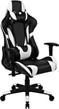 Flash Furniture X20 Gaming Chair Racing Office Ergonomic Computer PC Adjustable Swivel Chair with Fully Reclining Back in ...