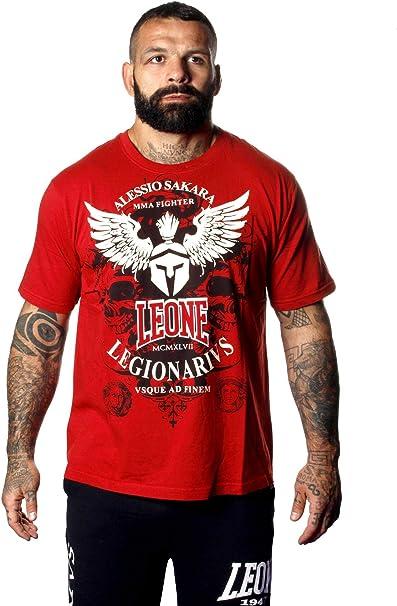 Leone - t-shirt da uomo legionarivs maniche corte - alessio sakara style LEGIO 02