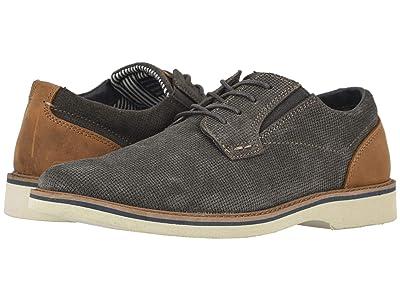 Nunn Bush Barklay Plain Toe Oxford (Gray w/ Light Sole) Men