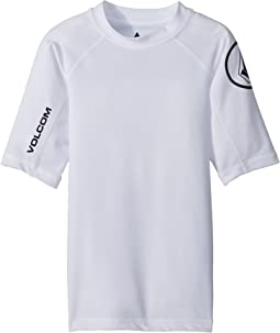 Volcom Kids Lido Solid Short Sleeve Rashguard (Toddler/Little Kids)