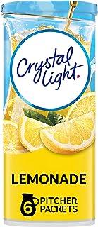 Crystal Light Lemonade Drink Mixes (72 Pitcher Packets, 12 Packs of 6)