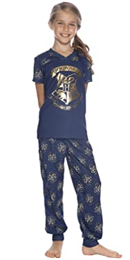 Harry Potter Intimo Big Girls Hogwarts Crest Jogger Pajama Set