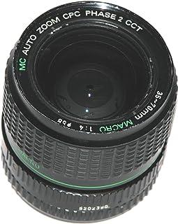 Cosmicar MC Auto Zoom CPC Phase 2 CCT 35-70mm 1:4 Macro Lens - PK Mount