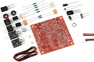 Tihebeyan Forty-9er 3W Accessories, HAM Radio CW Shortwave Transmitter Receiver DIY Radio Kit, Including Unsoldered Circuit Board, Scattered Components Kit, Circuit Diagram