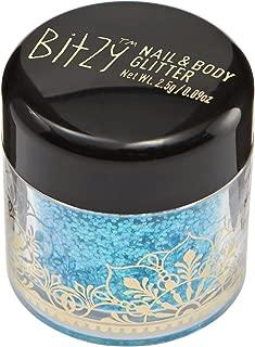 Bitzy Aqua Shimmer Nail & Body Glitter Aqua Shimmer
