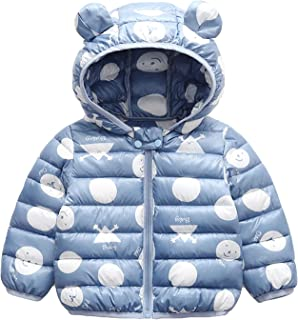 Bebé Chaqueta Invierno, Niños Niñas Abrigo con Capucha Traje de Nieve Manga Larga Outfits Calentar Warmer Regalos Ropa 6 M...