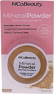 MCoBeauty Mineral Powder Shine-Free Foundation - Nude - 0.18 oz Foundation