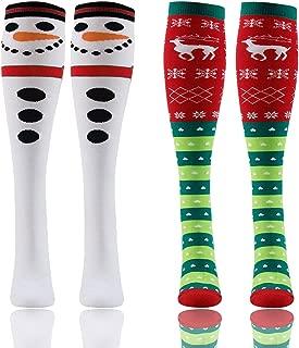 christmas knee high socks kids