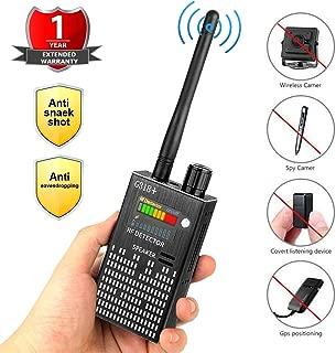 Eilimy Anti-Spy Wireless RF Signal Detector [2019 Latest Upgrade]BUG GPS Hidden camera Signal Detector,for Hidden Camera GSM Eavesdropping Device GPS Radar Radio Scanner Wireless Signal Device Finder