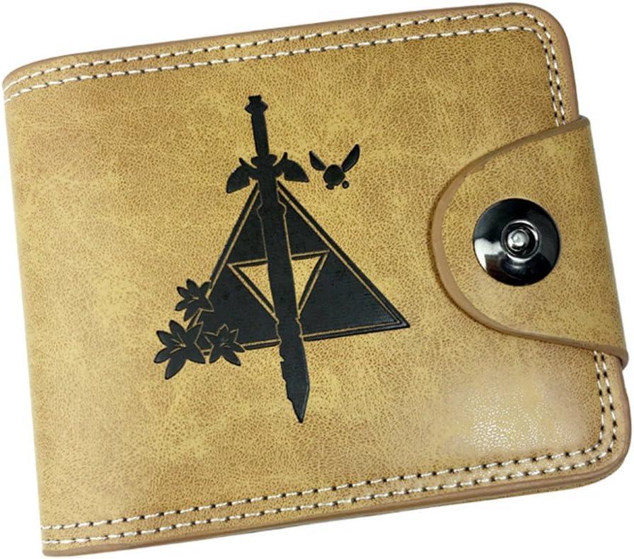 Gumstyle The Legend of Zelda Game Cosplay 10 Slots Bifold Wallet Card Holder Purse 3