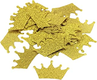 Crazy Night Gold Glitter Crown Diamond Ring Confettis Table Decorations Wedding Party Decoration 200PCS (Crown)
