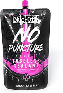 Muc-Off 821 No Puncture Hassle Tubeless Tyre Sealant, 140ml