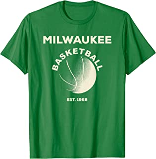 Milwaukee Basketball Retro Fan T Shirt