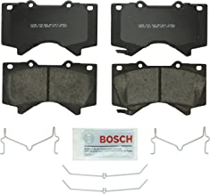 Bosch BP1303 QuietCast Premium Semi-Metallic Disc Brake Pad Set For Lexus: 2008-2017 LX570; Toyota: 2008-2017 Land Cruiser, 2008-2017 Sequoia, 2007-2017 Tundra; Front