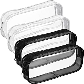 clear pencil cases
