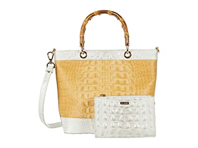 Brahmin Bijou Hayden Tote (Daydream) Handbags