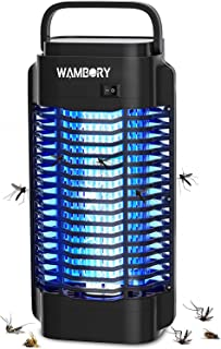 WAMBORY Mosquito Killer Lamp Bug Zapper, Electric Fly Insect Killer with 18W Physical UV Light, 2400V Powerful High Voltag...