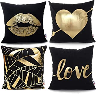 Amazon Com Red Black And Gold Bedroom Decor