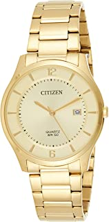 Citizen Watch for Men, Analog, Stainless Steel Band, Gold, BD0043-83P