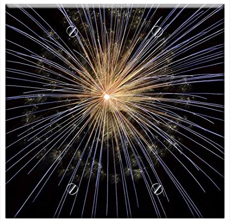 Switch Plate Double Toggle Fireworks New Year Eve Bright Light Firework Home Improvement