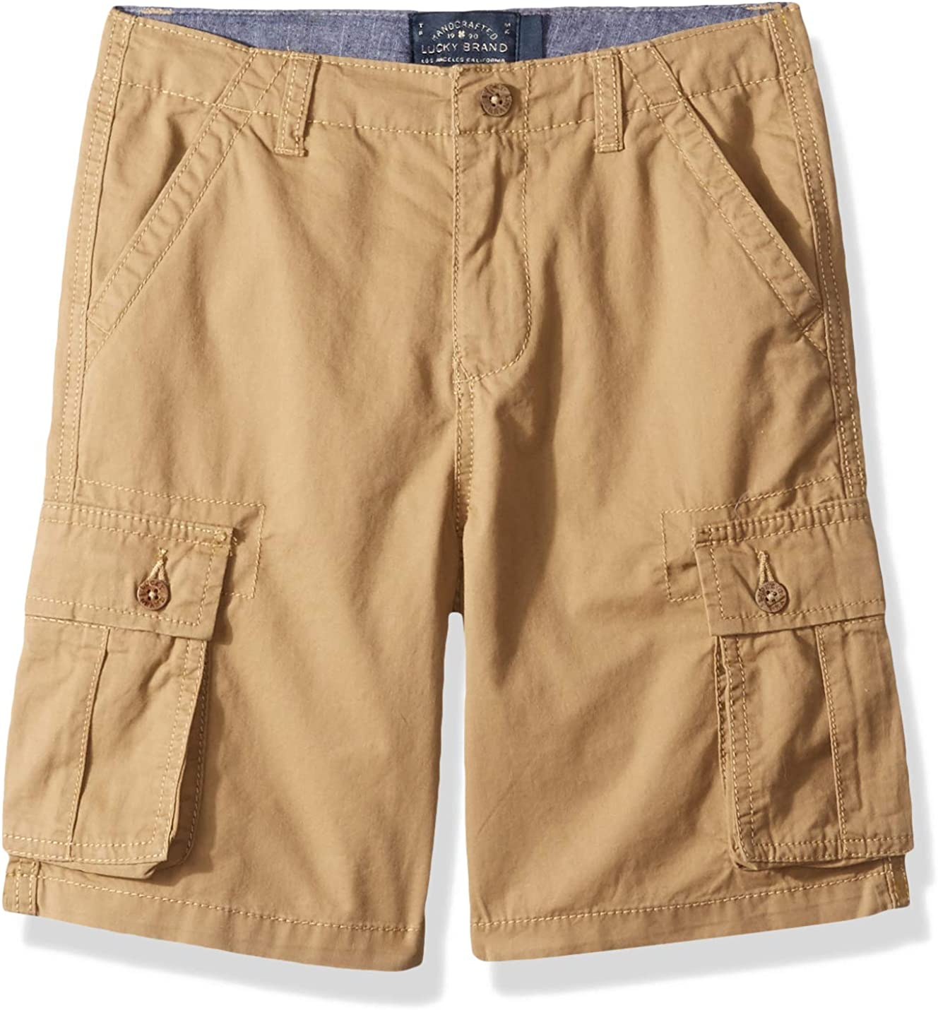 Lucky Brand Little Boys' Solid Cargo Shorts
