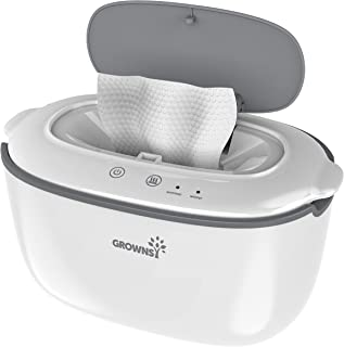 Wipe Warmer   Baby Diaper Warmer   Wipe Dispenser BPA-Free with 2 Modes Control, Evenly and Quickly Top Heating, Large Cap...