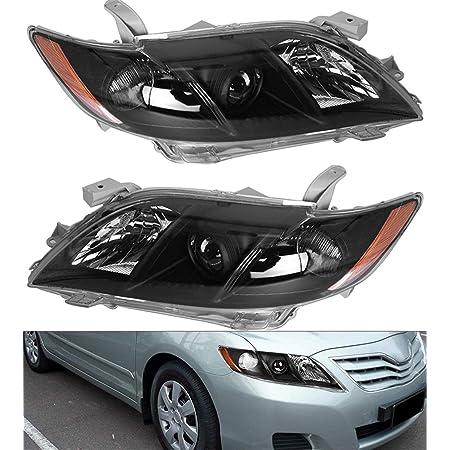 AmeriLite for 2007-2009 Toyota Camry Factory Style JDM Black ...