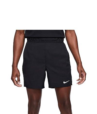 Nike Nike Court Flex Victory Shorts 7 (Black/White) Men