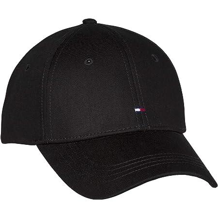 Tommy Hilfiger AW0AW09807-BDS - Gorra de béisbol para mujer, talla única, color negro